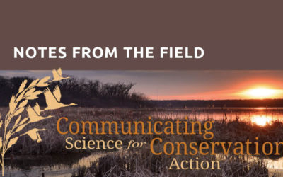 At the Conference: North American Congress for Conservation Biology