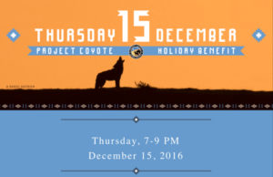Mill Valley, CA: Project Coyote Holiday Benefit